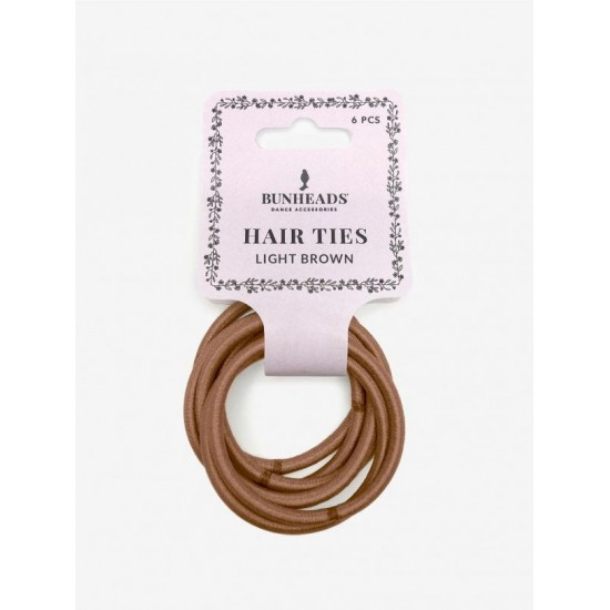 Hair ties Light brown...