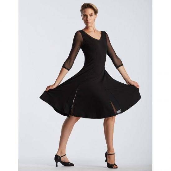 Robe manches tulle - DELINA