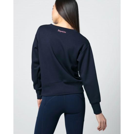 "Sweatshirt ""R"" REPETTO S0526"