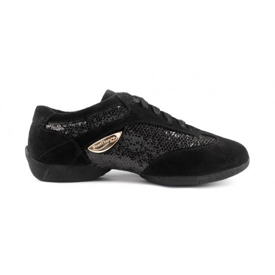 Sneakers PD01 Fashion Portdance Black Suede Sole