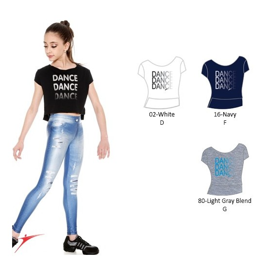 Top danse enfant So Danca E11166