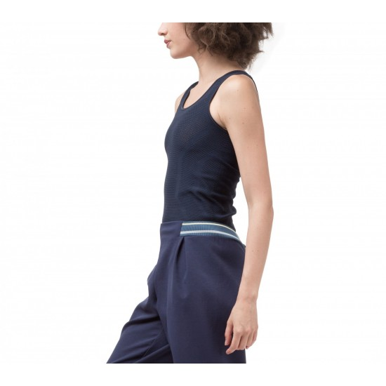 Top bleu Repetto S0397