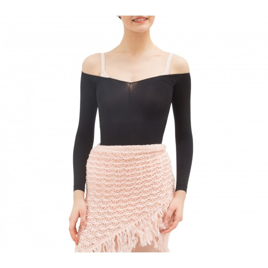 Top collant court noir Repetto