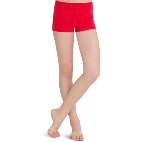 Short Capezio TB113C Red