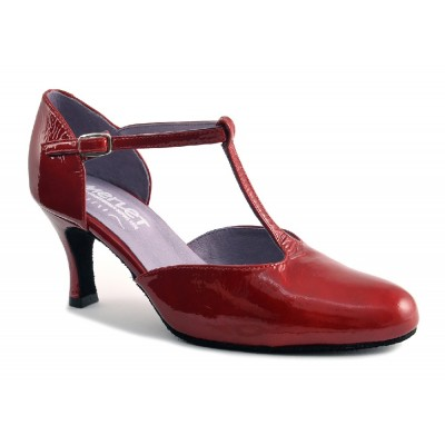 Chaussures rouges Merlet NINA 1974
