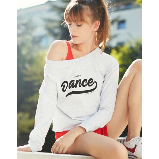 Sweat Temps Danse TALIA ONLY Chiné clair