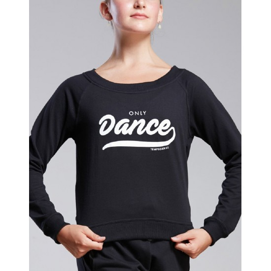 Sweat Temps Danse TALIA ONLY noir
