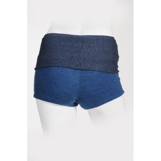 Short SOFTY Artiligne indigo