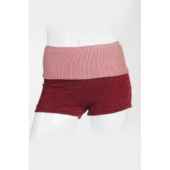 Short SOFTY Artiligne bordeaux