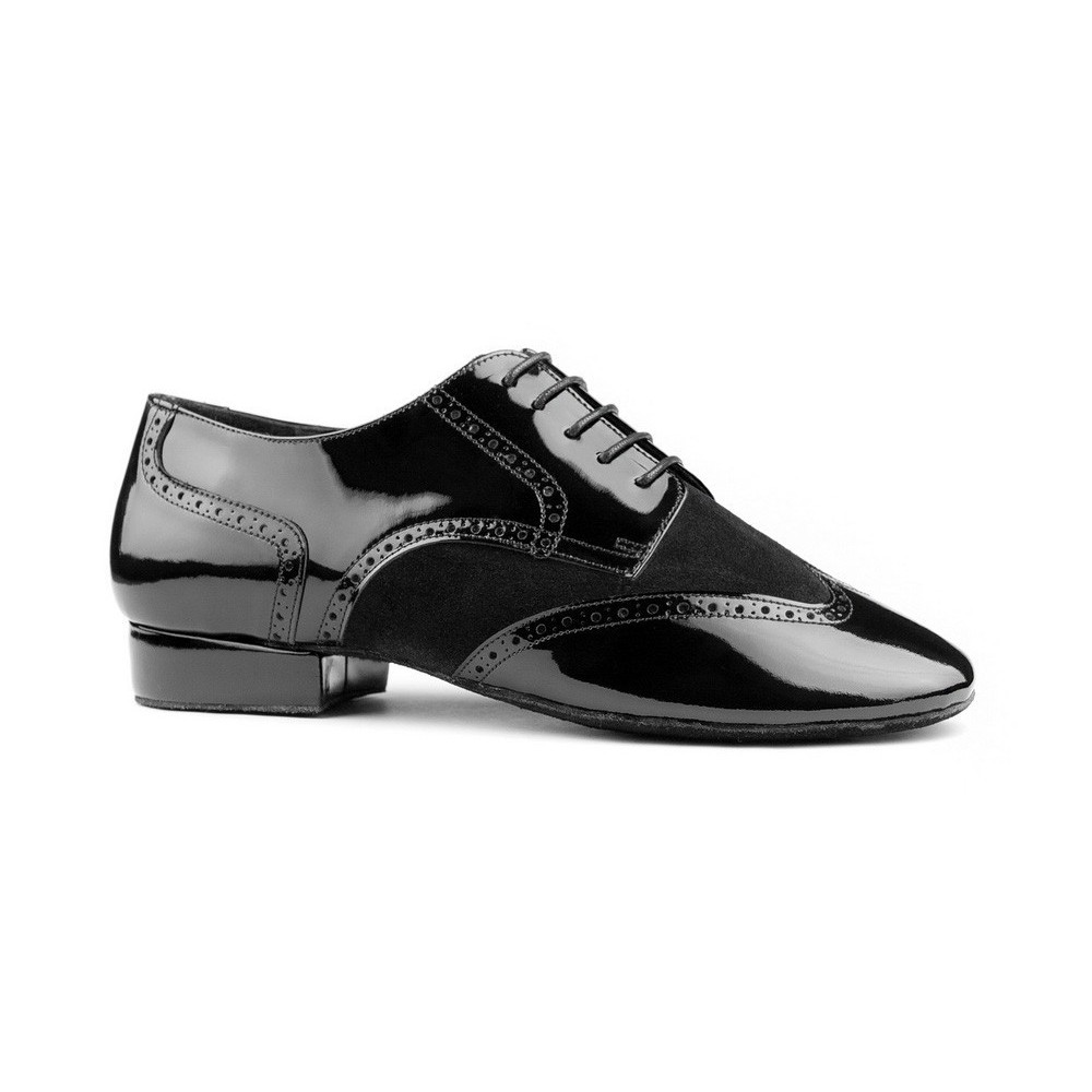 Chaussures PD042 Black Patent Portdance