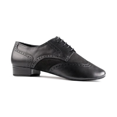 Chaussures PD042 Black and Nabuk Portdance