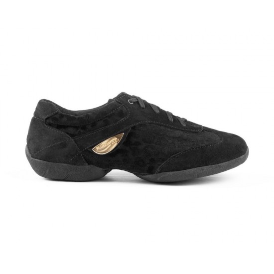 Sneakers PD02 Fashion Black Nubuck Portdance