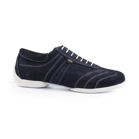 Chaussures PD Pietro Street Blue Nubuck White Sole Portdance