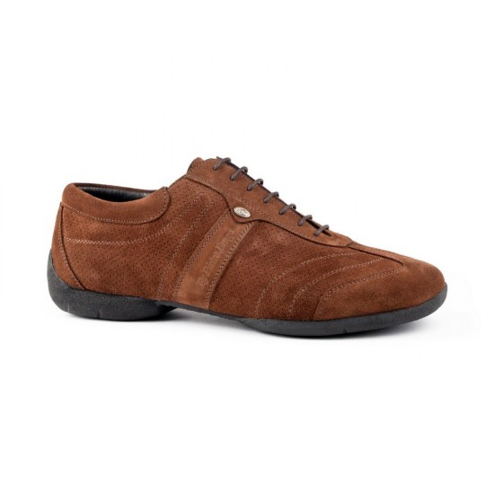 Chaussures PD Pietro Street Brown Nubuck Portdance
