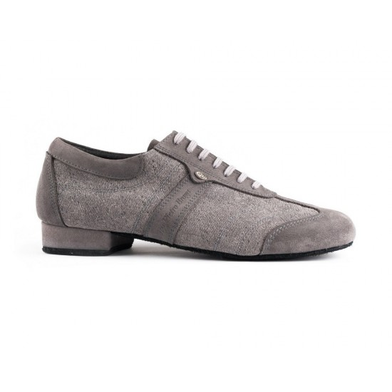 Chaussures PD Pietro Street Gris Denim Suede Sole Portdance