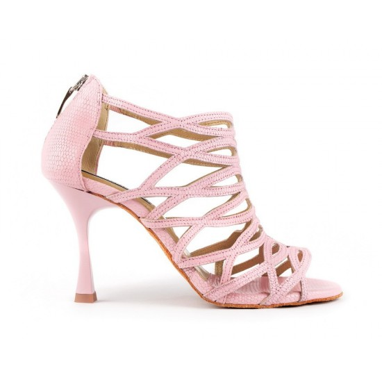 Chaussures PD803 Cuir PINK Portdance