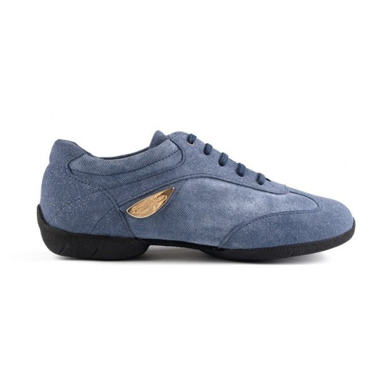 Sneakers Denim PD07 FASHION BLUE Portdance
